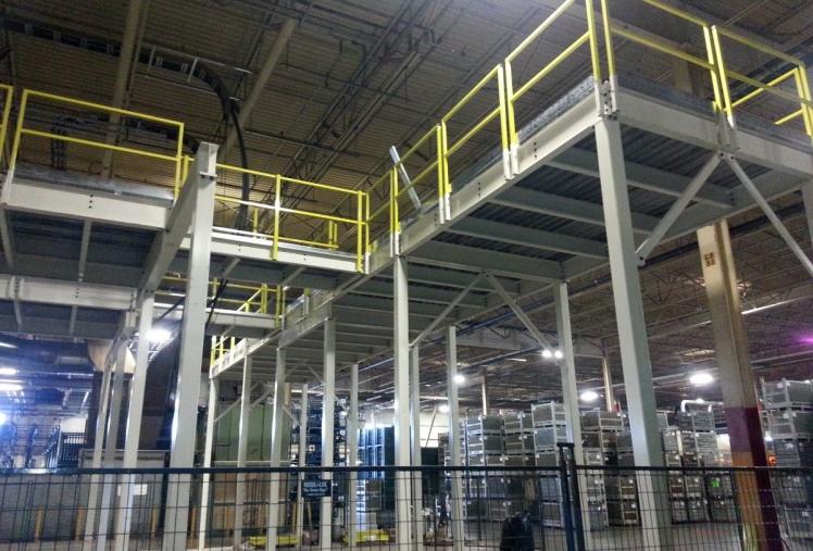 buy steel mezzanine, custom steel mezzanines, prefabricated steel mezzanine systems, buy custom steel mezzanine deck, mezanine decks for storage, warehouse mezanines, steel decks for industrial storage, buy canadian mezanines, custom steel mezanine